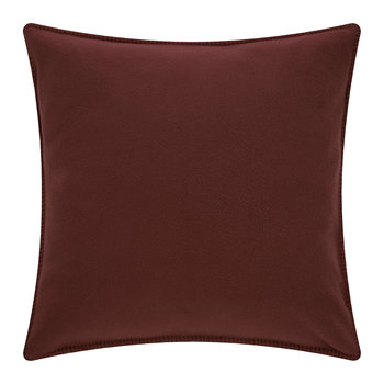 Soft Fleece Cushion - 50x50cm - Wine