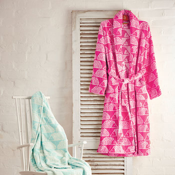 Spike Bathrobe - Pink