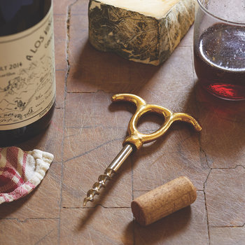 Mixed Metal Wine Opener - No. 2