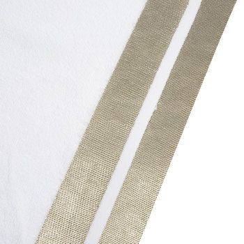 Mode Towel - White/Gold