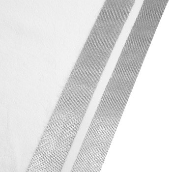 Mode Towel - White/Silver