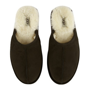 Men's Scuff Slippers - Espresso