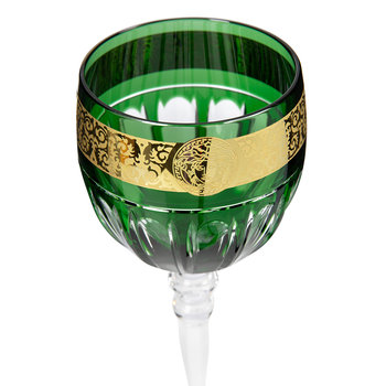 Gala Prestige Red Wine Glass - Green