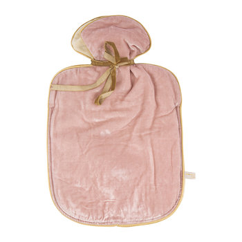 Velvet Lavender Hot Water Bottle - Rose