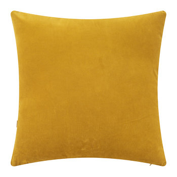 Velvet Palm Tree Pillow Cover - 45x45cm - Gold