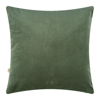 Velvet Palm Tree Pillow Cover - 45x45cm - Green