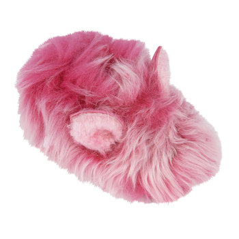 Pinkipuff Solvi Infant Slippers - Pink Azalea