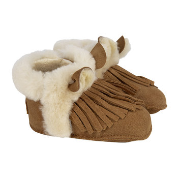Darlala Erin Infant Boots - Chestnut