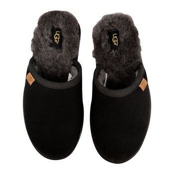 Men's Scuff Slippers - Black/Gray