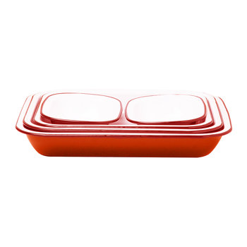 Bake Set - Pillarbox Red