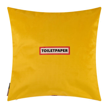 Toiletpaper Cushion Cover - 50x50cm - Mouth with Pins