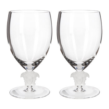Medusa Lumiere 2nd Edition Water Glasses - Set of 2 - Clear
