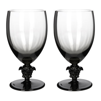 Medusa Lumiere 2nd Edition Water Glasses - Set of 2 - Haze