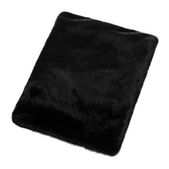 Faux Fur Throw - 180x145cm - Jet