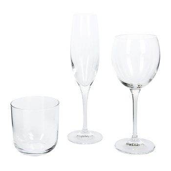 Uno Champagne Flutes - Set of 6