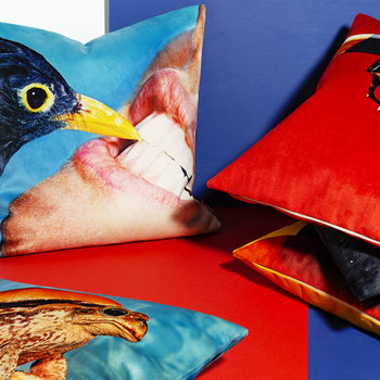 Toiletpaper Cushion Cover - 50x50cm - Crow