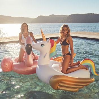 Luxe Unicorn Ride On Float