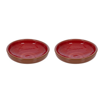 Large Tapas Bowls - Red - Set of 2