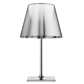 KTribe T2 Table Lamp - Polished Chrome - With Dimmer