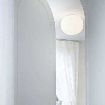 Mini Glo-Ball Ceiling/Wall Light - White