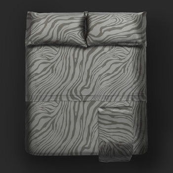 Macro Zebrage Bed Set - Sand