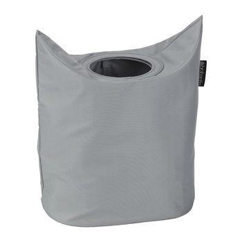 Oval Laundry Bag - 50 Litres - Grey