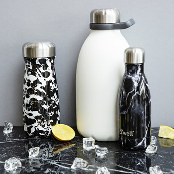 The Elements Bottle - Black Marble