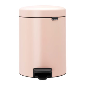NewIcon Pedal Bin - 5 Liters - Clay Pink