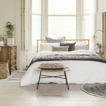 Birger Round Rug - Drizzle/Gold
