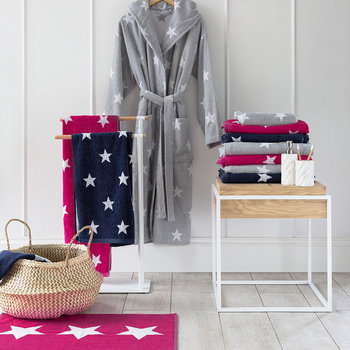 Star Bath Mat - Pink