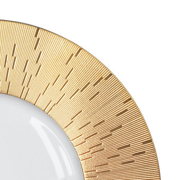 Infini Prestige Charger Plate - Gold