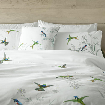 Fortune Duvet Cover - Mint