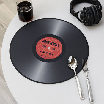 Set de Table en Vinyle Disque