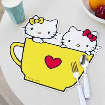 Hello Kitty Teapot Placemat