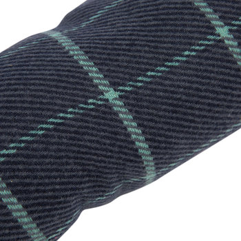 Tweed Draught Excluder - 16x80cm - Navy Check