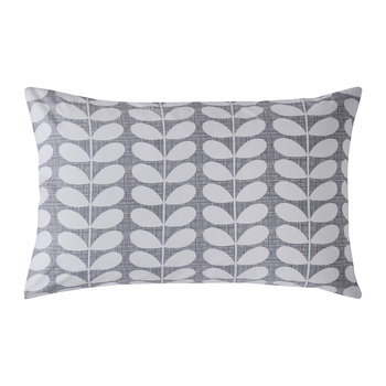 Placement Scribble Stem Pillowcase - Set of 2 - Pebble