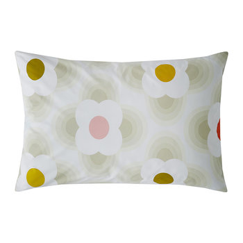 Striped Petal Pillowcase - Set of 2 - Multi Spot