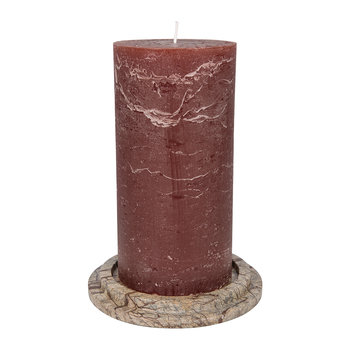 Autunno Marble Pillar Candle Holder