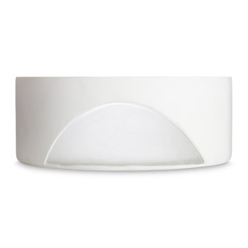 Carved Bowl - White