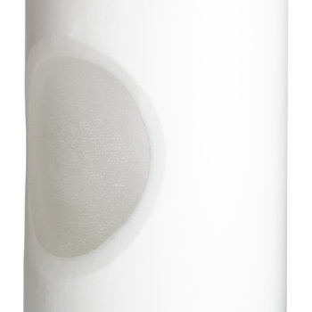 Carved Vase - White