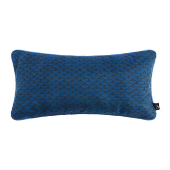 Sardine Silk Reversible Pillow - 50x25cm - Blue