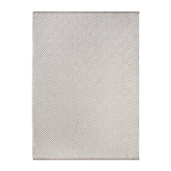 Tapis 100 % Recyclé Diamant - Naturel