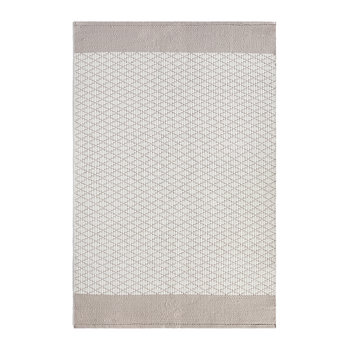Tapis 100 % Recyclé Treillis - Naturel