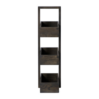 3 Tier Bathroom Caddy - Dark Oak