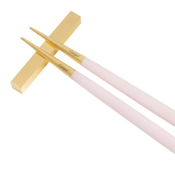 Goa Chopstick Set - Pink/Gold