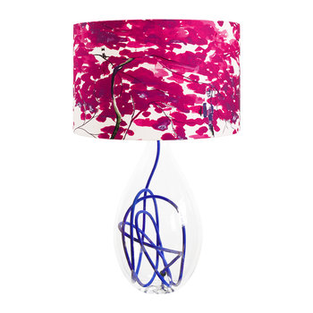 Chinese Tree Lamp Shade - Pink/Violet
