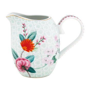Blushing Birds Pitcher - White