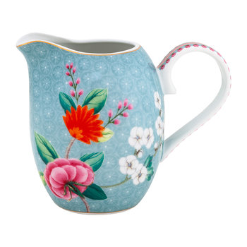 Blushing Birds Jug - Blue