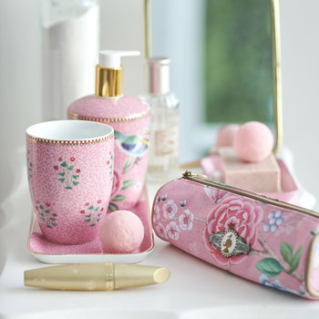 Good Morning Toothbrush Holder - Pink
