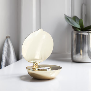 Shell Votive Candle Holder - Gold